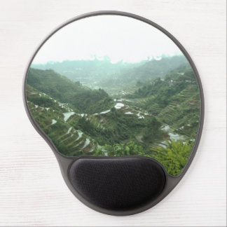 Valley in the Philippines Gel Mouse Pad
