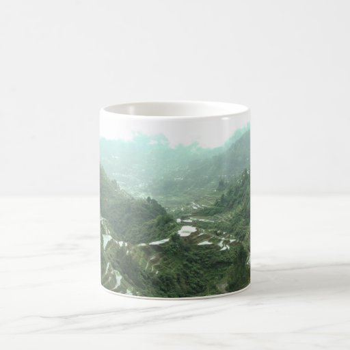 Valley in the Philippines Mug