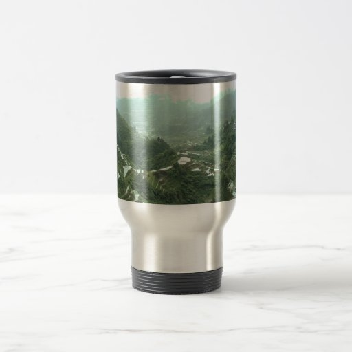 Valley in the Philippines Mugs