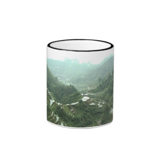 Valley in the Philippines Coffee Mugs