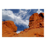 """Valley of Fire Poster Print, """"He Said, She Said"""""""
