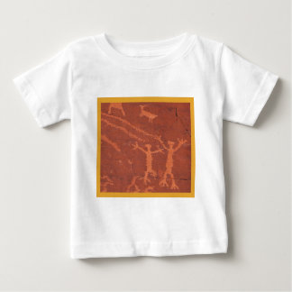 Valley of Fire Rock Carving Baby T-Shirt