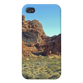 Valley Of Fire Rock Formations iPhone 4 Cover