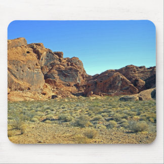 Valley Of Fire Rock Formations Mouse Pad
