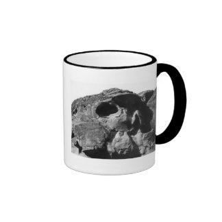 Valley of Fire Skull Rock Ringer Mug
