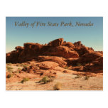 Valley of Fire State Park Post Card