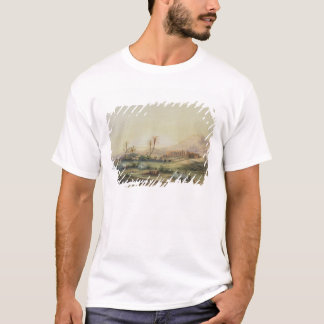 Valley of Nile with Ruins of the Temple of T-Shirt