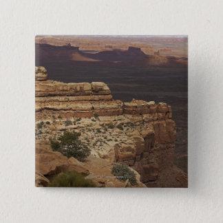 Valley of the Gods, Utah 15 Cm Square Badge