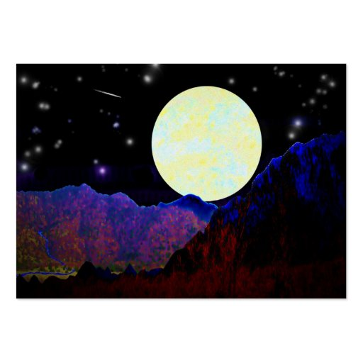 Valley of the Moon ATC Business Card Template
