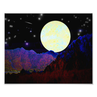 Valley of the Moon Photo Print