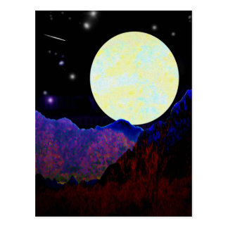 Valley of the Moon Postcard