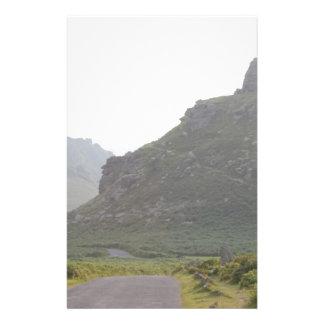 Valley of The Rocks, Devon. 14 Cm X 21.5 Cm Flyer