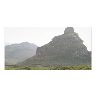 Valley of The Rocks Devon Customized Photo Card