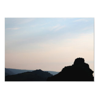 Valley of the Rocks, Devon, UK. 13 Cm X 18 Cm Invitation Card