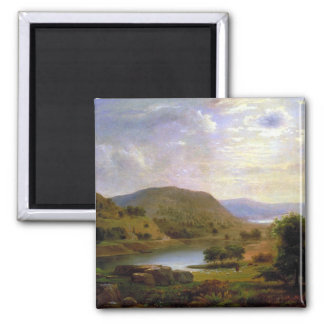 Valley Pasture by Duncanson Refrigerator Magnets