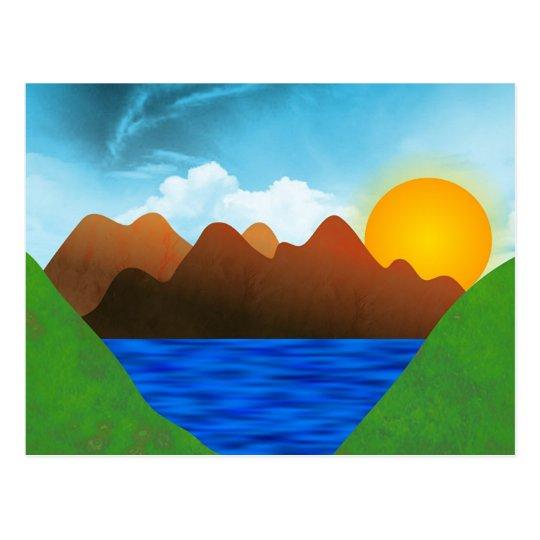 Valley Postcard