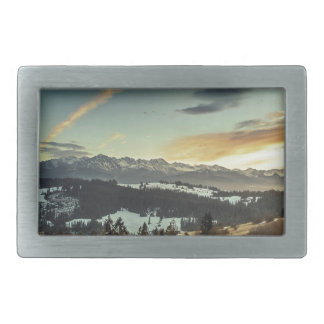 Valley Rectangular Belt Buckles