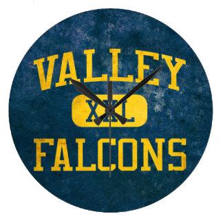 Valley Santa Ana Falcons Athletics Clock