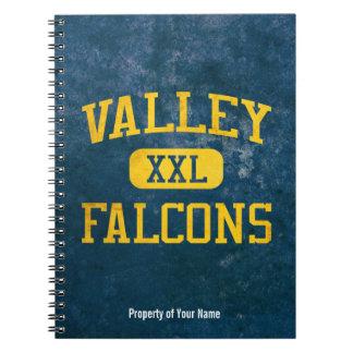 Valley Santa Ana Falcons Athletics Spiral Note Books