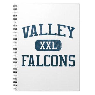 Valley Santa Ana Falcons Athletics Note Books