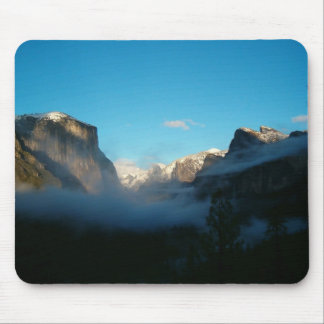 valley view after storm mouse mat