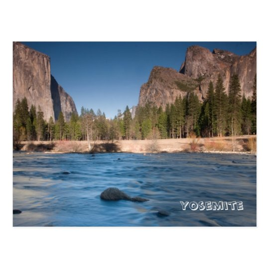 Valley View, Yosemite Postcard