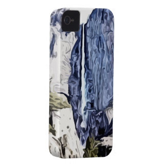 Valley waterfall painting iPhone 4 Case-Mate cases