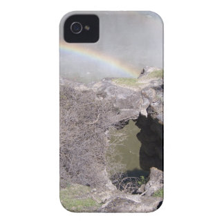 Valley with Rainbow iPhone 4 Cover
