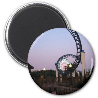 Valleyfair3 6 Cm Round Magnet