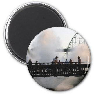 Valleyfair 6 Cm Round Magnet