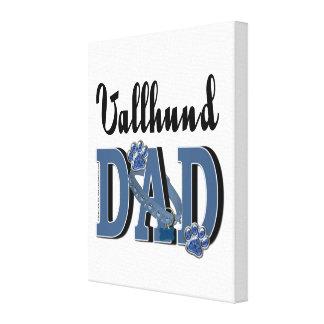 Vallhund DAD Stretched Canvas Prints