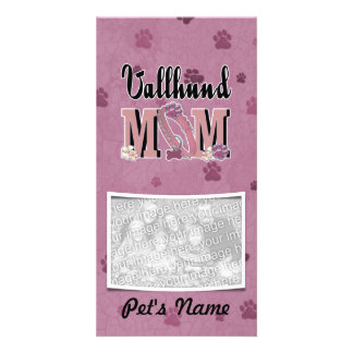 Vallhund MOM Personalized Photo Card