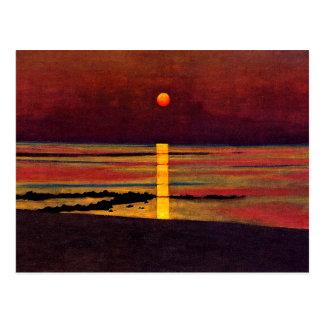 Vallotton - Sunset Postcard