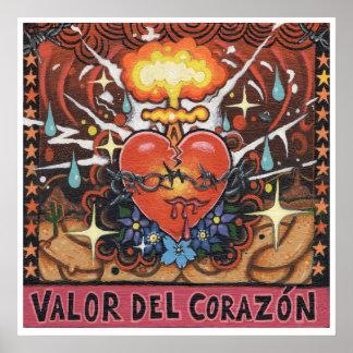 'Valor Del Corazon' art print Print