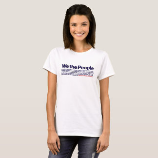 VALOR SERIES - We The People....Preamble T-Shirt