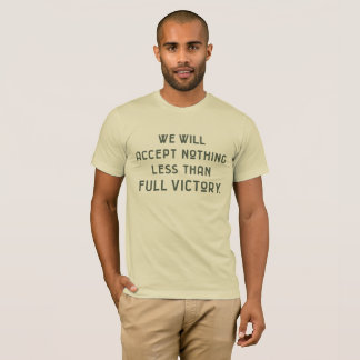 VALOR Series - We Will Accept Nothing...D-Day T-Shirt