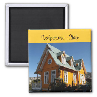Valparaíso - Chile Magnet