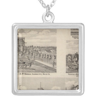 Valparaiso City Public Graded School Silver Plated Necklace