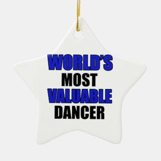 valuable dancer christmas ornament