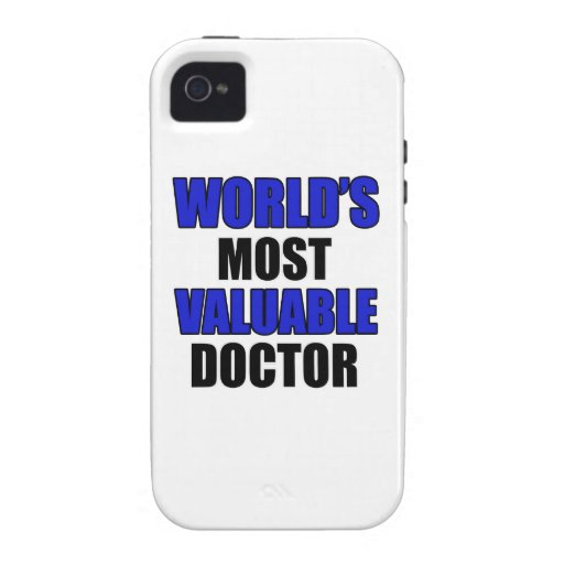 valuable doctor Case-Mate iPhone 4 cases