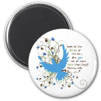 Value of Birds Fridge Magnet