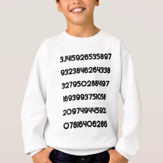 Value of Pi Pie 3.14159 Mathematical Constant π Sweatshirt