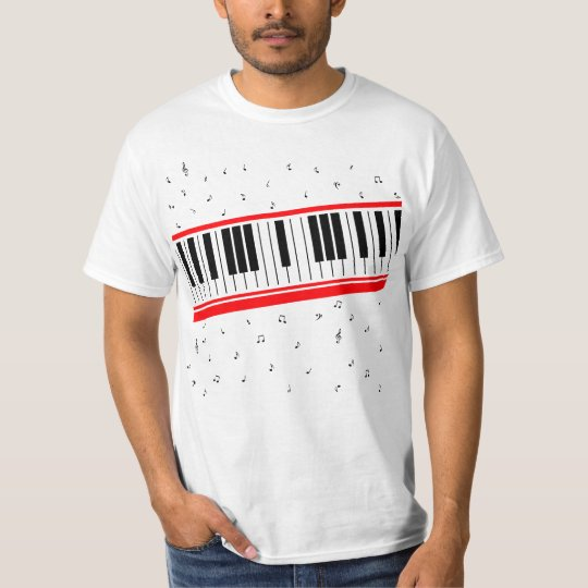 Value Piano Keyboard Shirt