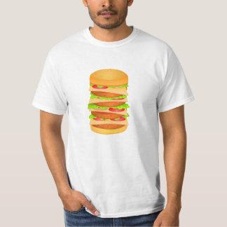 Value T-Shirt with Big Burger print