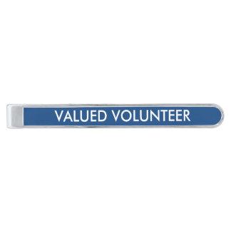 Valued Volunteer Tie Clip