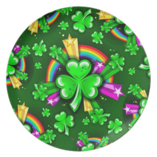 Valuegem Irish Clovers Plate