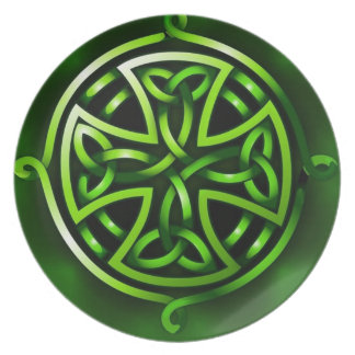 Valuegem Irish Crest Plate