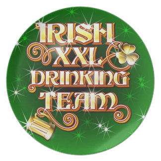 Valuegem  IRISH DRINKING TEAM PLATE