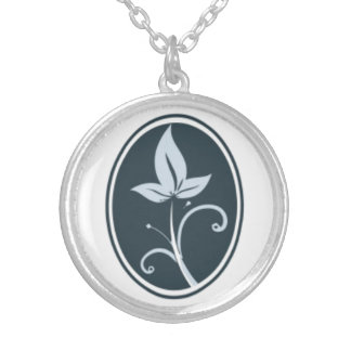 Values Based Psychiatry Charm Necklace Silver