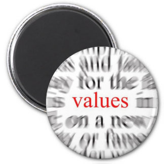 Values Inspiration Fridge Magnets